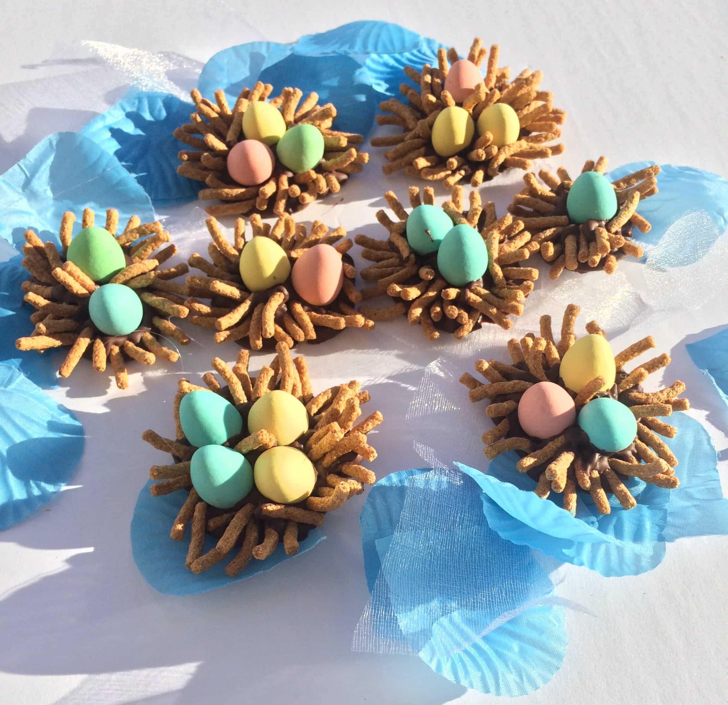 Easy, 3 Ingredient Candy Birds' Nests