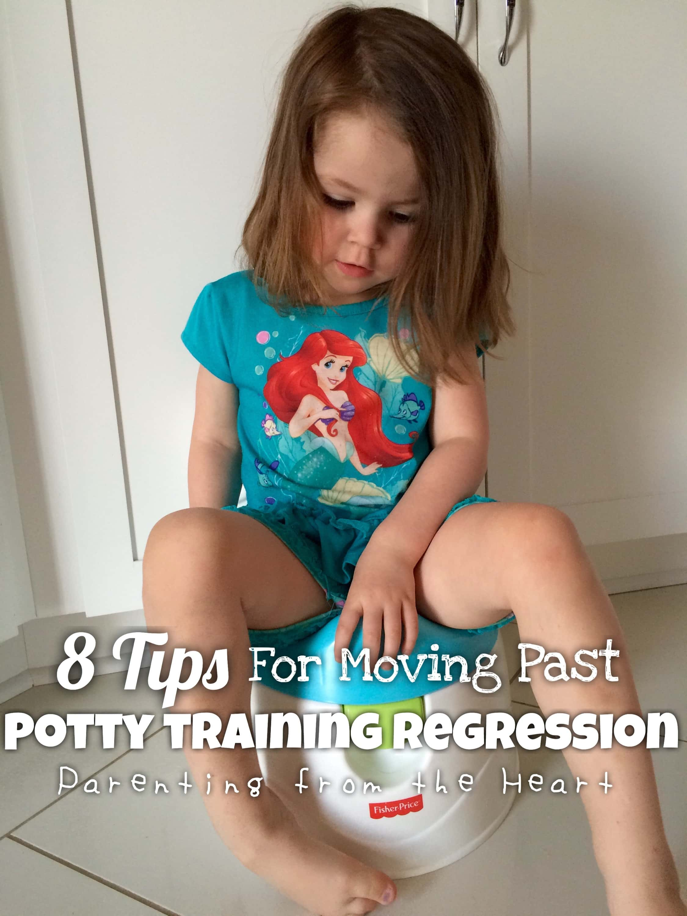 Potty training is no easy feet, especially when your child regresses (and then maybe regresses again). See tips and resources on potty training regressions.