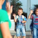 Dropping your child off on the first day at a new school or the first day of kindergarten, here are ways to empower you and your child