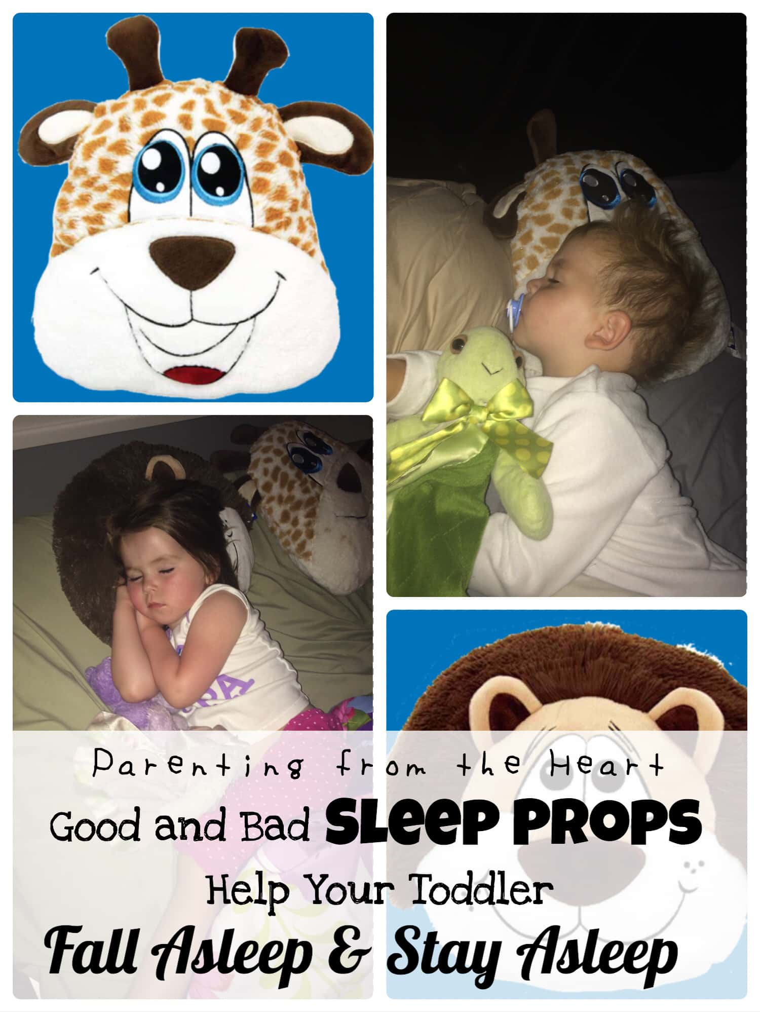 Parenting from the Heart My Happy Pillow review