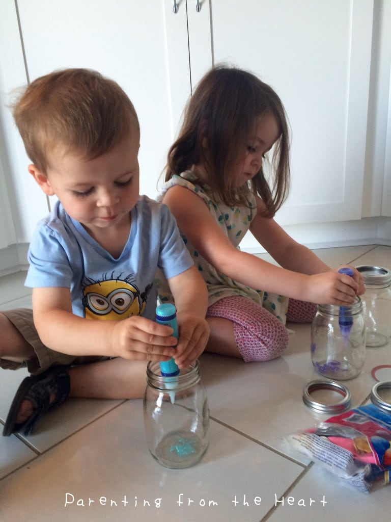 DIY Sensory Jars | Parenting from the Heart