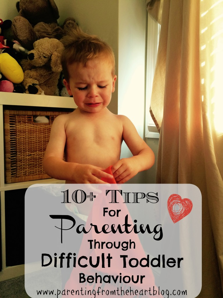 Toddlerhood really is both the best and worst of times. Here are over 10 tips on parenting through difficult toddler behaviour that are centred in positive, empathetic parenting, toddler tantrums