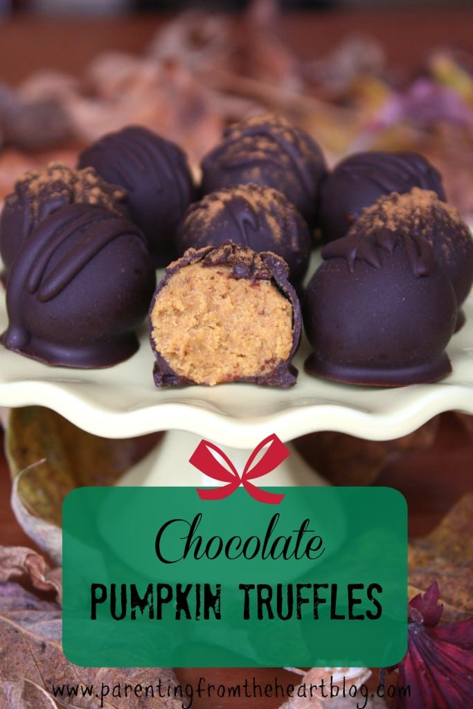 These pumpkin truffles are super easy to make but are so elegant and tasty, that you'll be sure to amaze your guests! They're dairy-free, gluten-free, refined sugar-free and delicious!