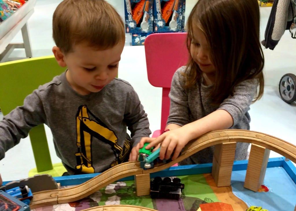 kids routine trains