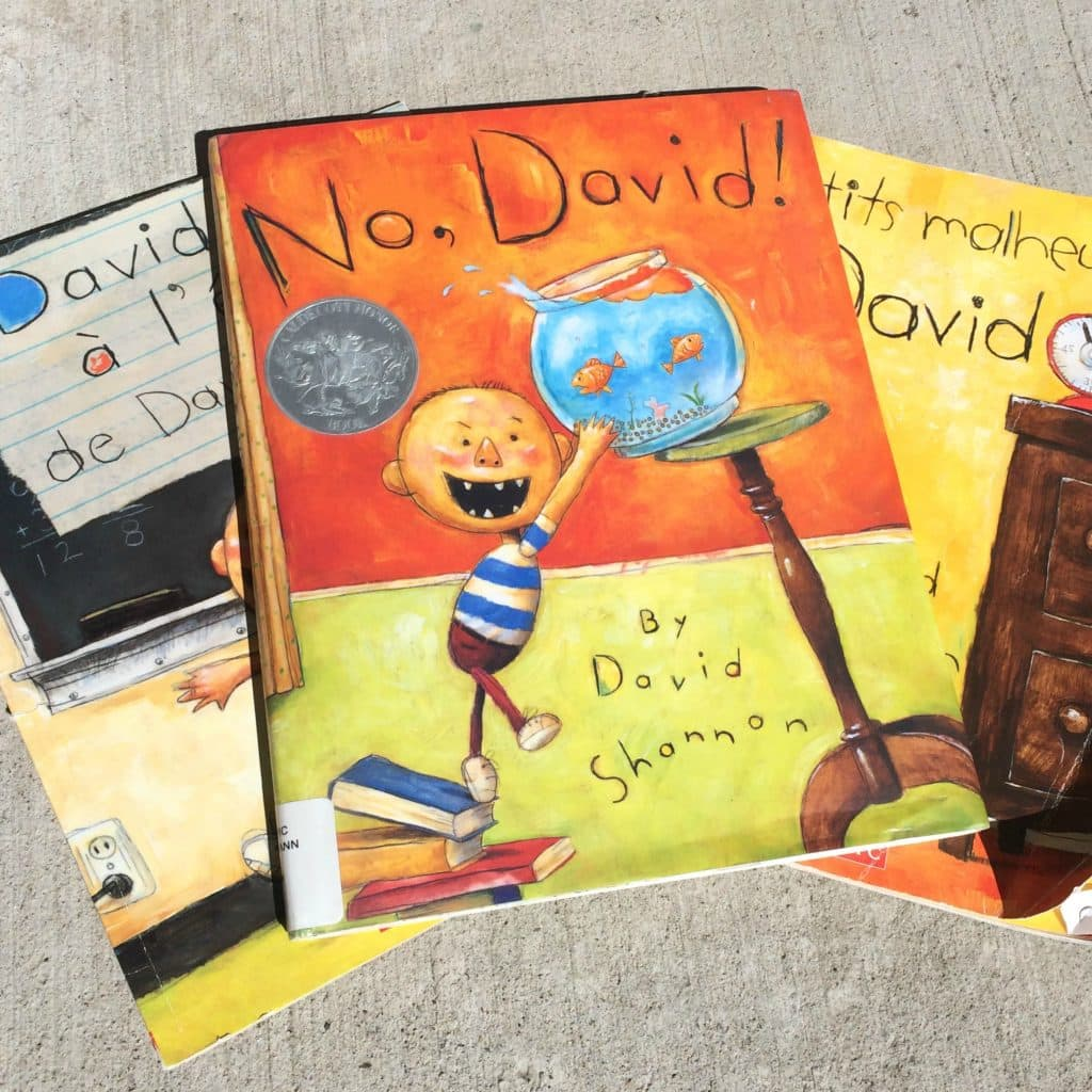 Best books for a spirited child No David by David Shannon
