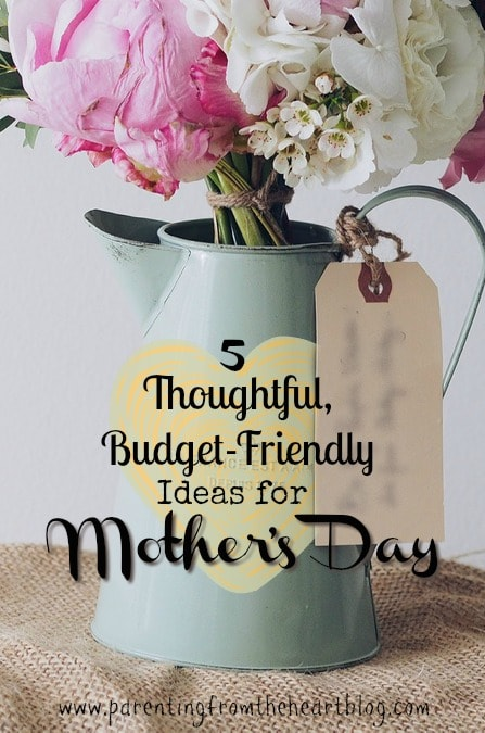 Make mom's day VERY memorable with these thoughtful, budget-friendly ideas for Mother's Day. The best gifts in life are free! Click here to see why.