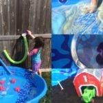 5 Kiddie Pool Sensory Play Ideas