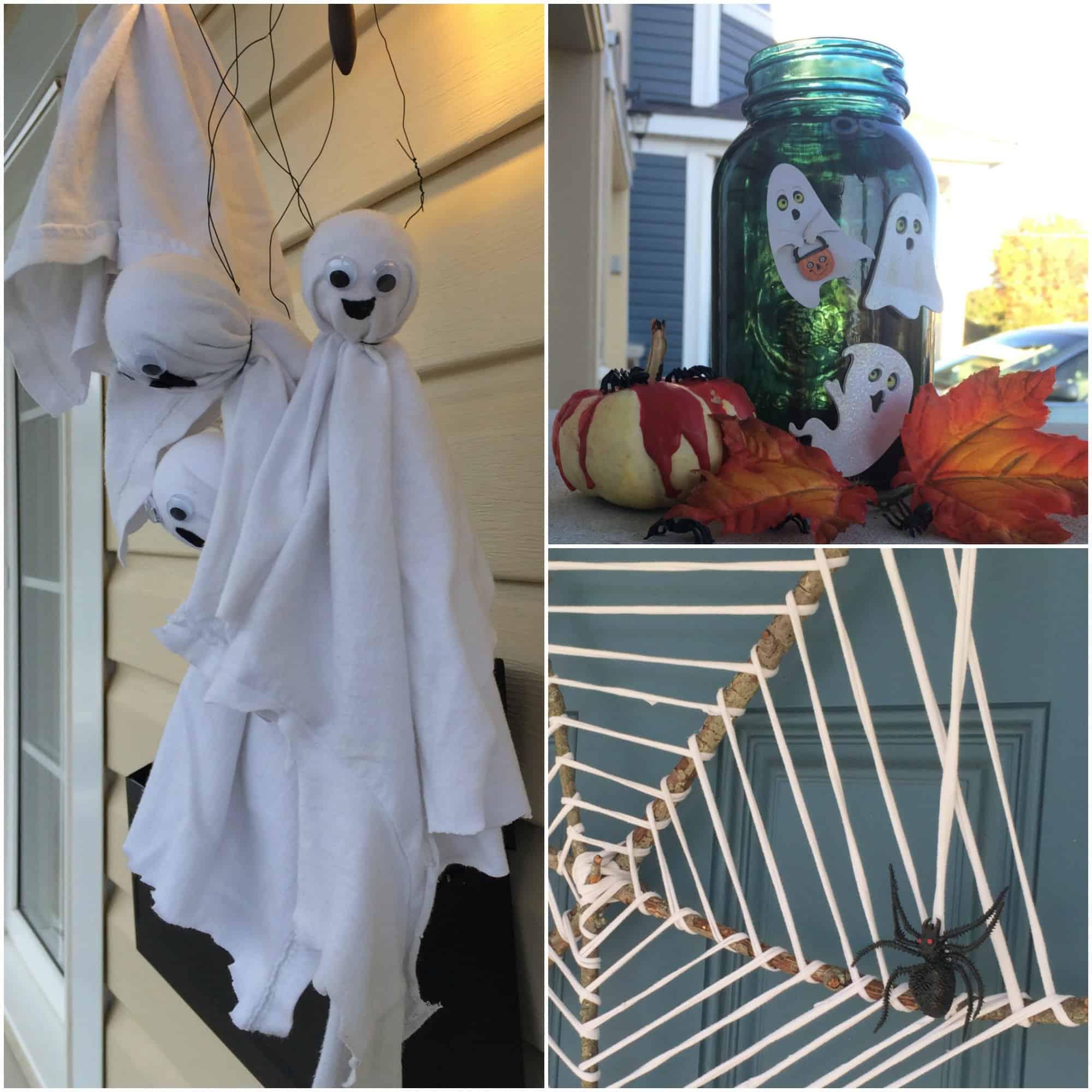 Inexpensive and Easy DIY Halloween Decor