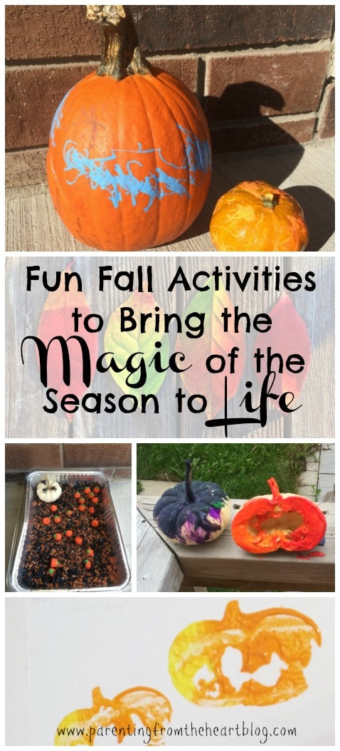 Bring the magic of the season to life with these fun Fall activities for toddlers, preschoolers, and kindergarteners. All of these kids activities are simple to set up, fun, and promote play-based learning