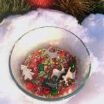 Peppermint Scented Christmas Sensory Bin