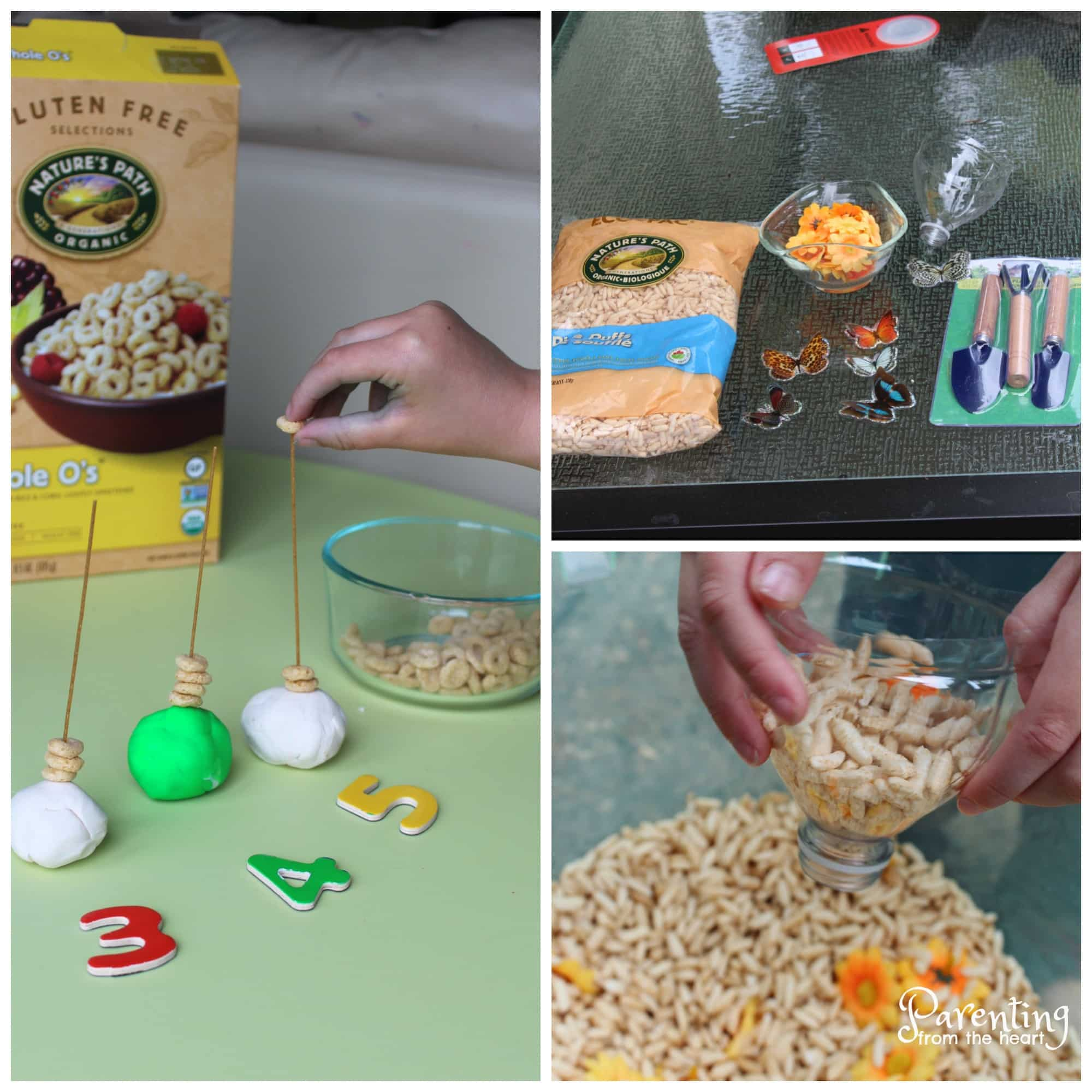 3 Taste-Safe Kids Activities Using Cereal