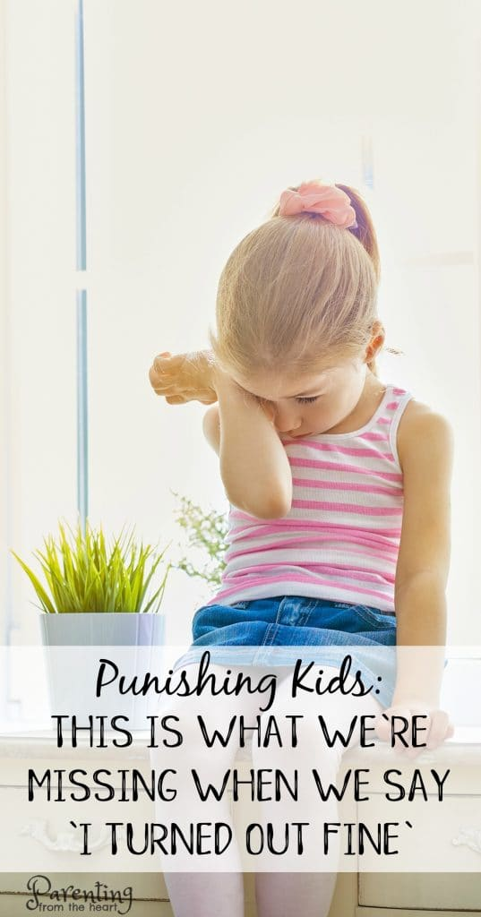 Many were raised using punishment. Spanking and timeouts were the norms. Find out what research says and the answer to the 'I turned out fine' argument. Find out what are the best discipline techniques and so much more. Positive parenting. Parenting from the Heart #parenting #positiveparenting #positivediscipline #punishment #childdevelopment