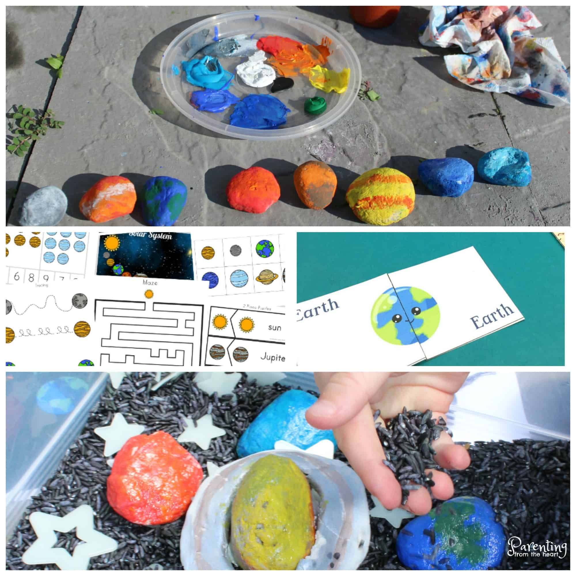 Solar System Worksheets: Free printables for preschoolers and older ...