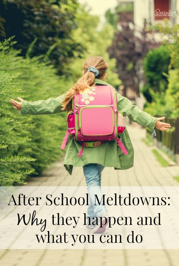 If you find your child is prone to meltdowns after school, don't worry. Find effective self-regulation strategies and activities for kids here. Comes with a free printable cheat sheet with tips. #parenting #backtoschool #school #positiveparenting #kids #tantrums #meltdowns #parenting101