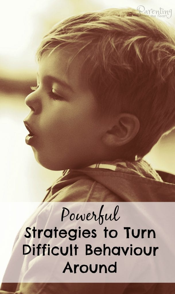 When your child gets angry or their behaviour becomes especially difficult, remember these two simple, powerful strategies. Parenting from the Heart