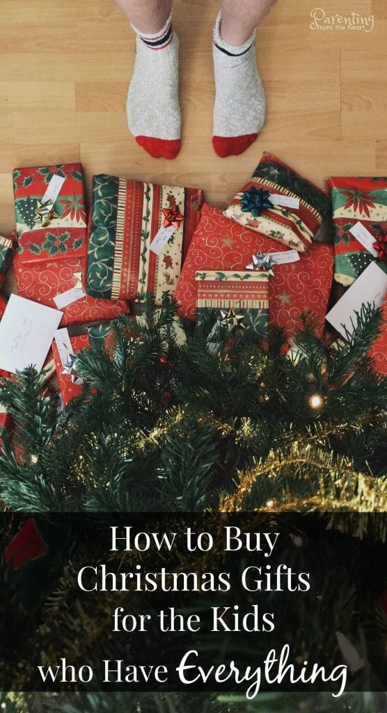 While I would love to buy everything for my children, we have way too many toys. This year, I want to give my kids less but them to experience more. Find how to buy the best Christmas gifts for kids below. Parenting from the Heart. #christmasgiftsforkids #playbasedlearning #toysforkids #bestgiftsforkids #playvalue #besttoys2017 #Christmas