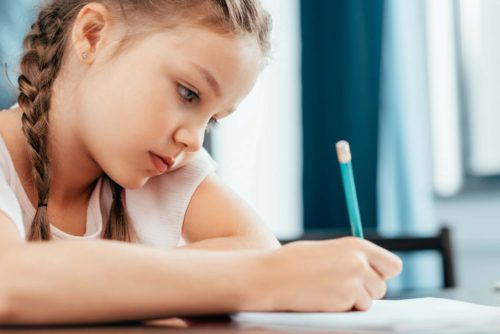 How should you respond when your child says she hates school? If your child starts to hate school, this is how to respond in a way that supports your child while working with the school to come up with a solution. #parenting #positiveparenting