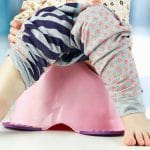 potty training regression feature