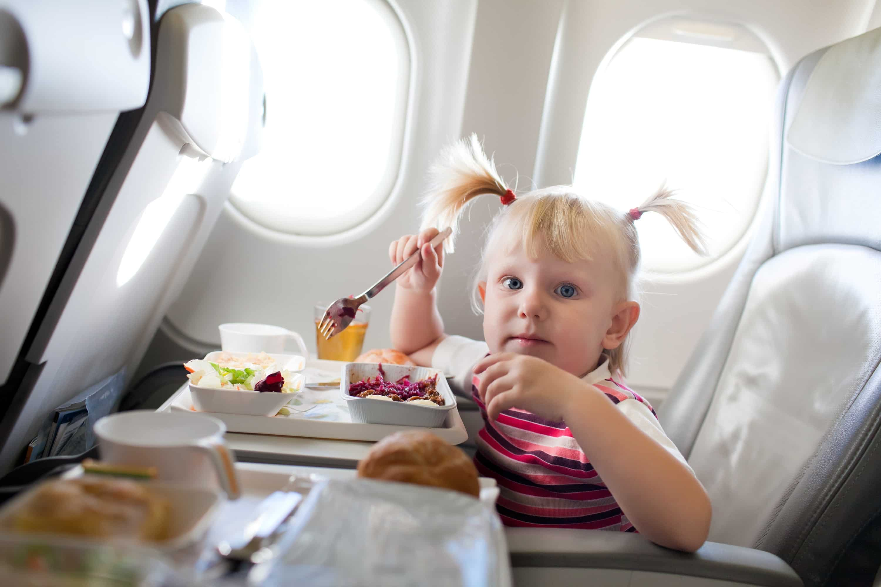 How to have a peaceful flight with young kids