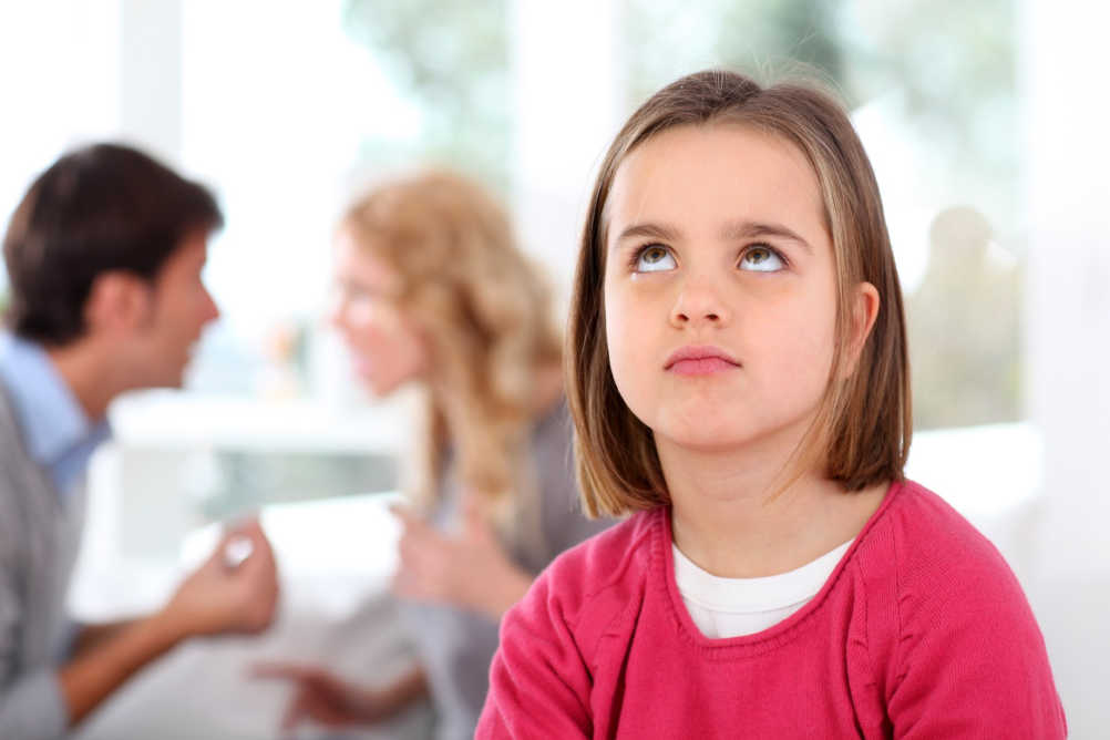bad parenting moments such as fighting in front of the kids can be resolved