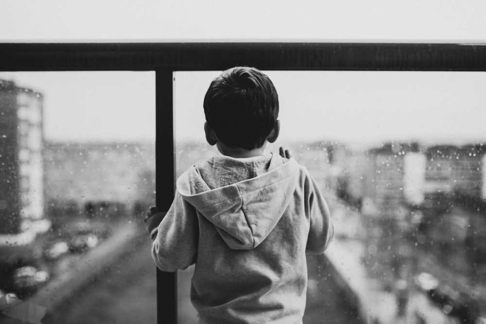 A boy alone, why children need positive parenting more than ever
