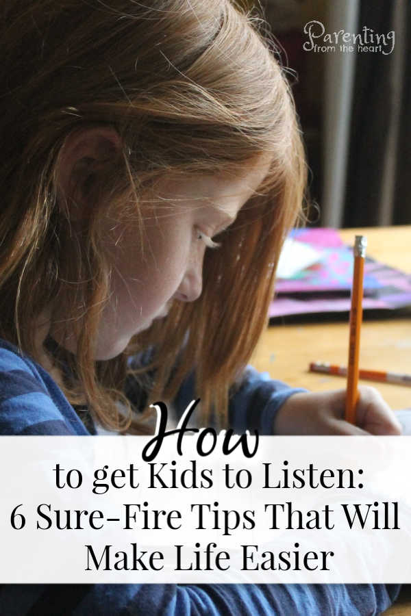 It can be maddening when kids don't listen. These are research-based strategies that will teach you how to get kids to listen calmly and effectively.